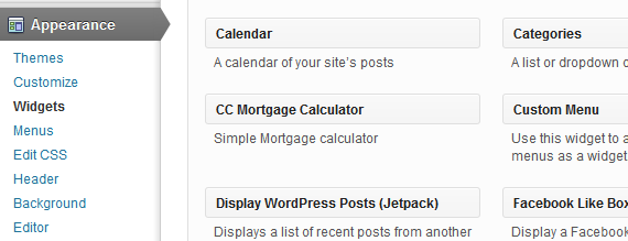 Find CC Mortgage widget
